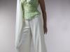 Handbewerkt corsetje crepe pantalon