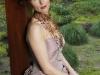 gekleurde bruidsjapon zijde